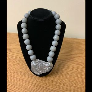 Hand Made Large Beaded Shell Necklace